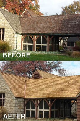 cedar roof cleaning ma