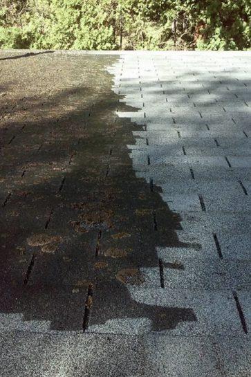 asphalt roof washing Natick